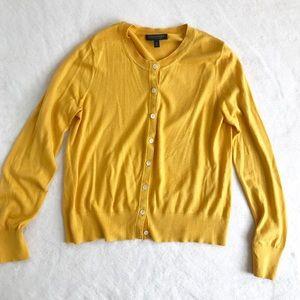 Banana Republic Silk Cashmere Button-Up Cardigan